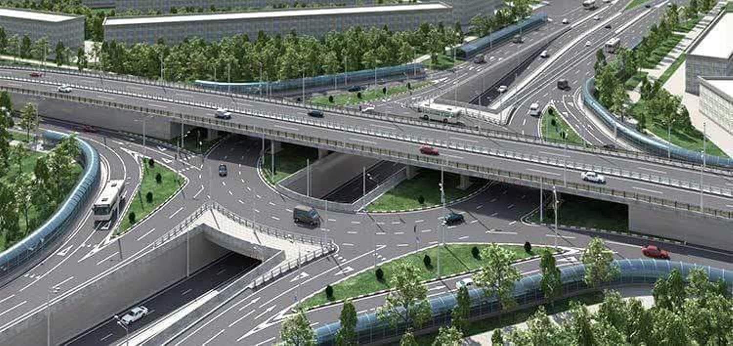 Picture of roads and flyover in uyo