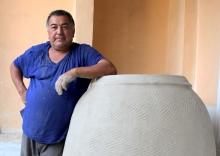 Солнце в тандыре: как изготавливают национальную печь
