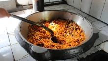 Королевское блюдо Исфары: в чем секрет самого вкусного плова Таджикистана
