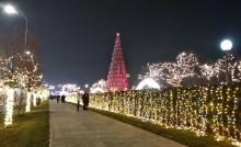 Как выглядит новогодний Ташкент?