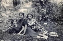 Девушки Таджикистана 30-40-х годов: Как они выглядели и одевались