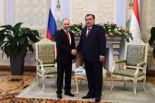Визит Путина в Таджикистан